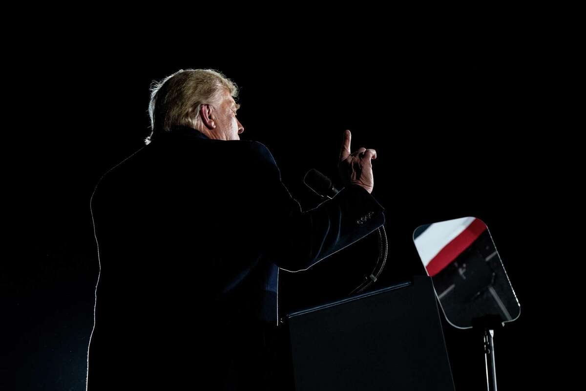 President Donald Trump speaks at a campaign rally. For all the problems that President Trump's disdain of elite expertise has caused over the last four years, his willingness to ignore economic orthodoxy in one crucial area has been vindicated, offering a lesson for the Biden years and beyond.
