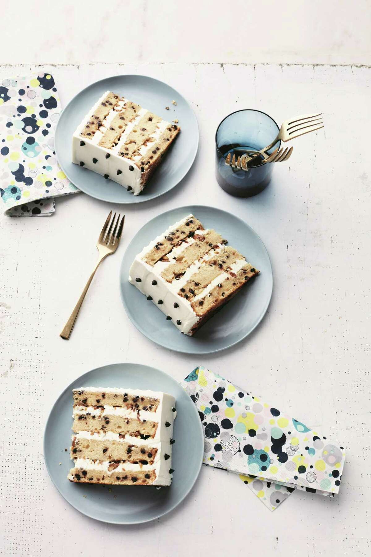"""Milk-and-Cookies Cake from """"Martha Stewart's Cake Perfection"""" cookbook."""