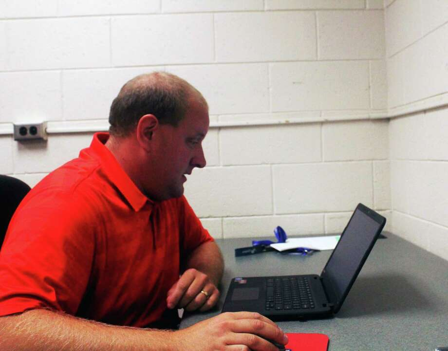 """Chippewa Hills athletic director Mike Fosburg: """"Our winter schedules are all set and ready to go."""" (Pioneer file photo)"""