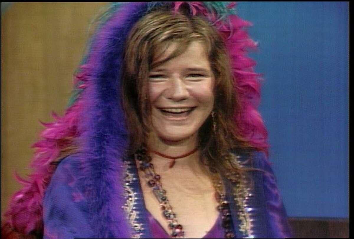 Still of Janis Joplin taken from the DVD