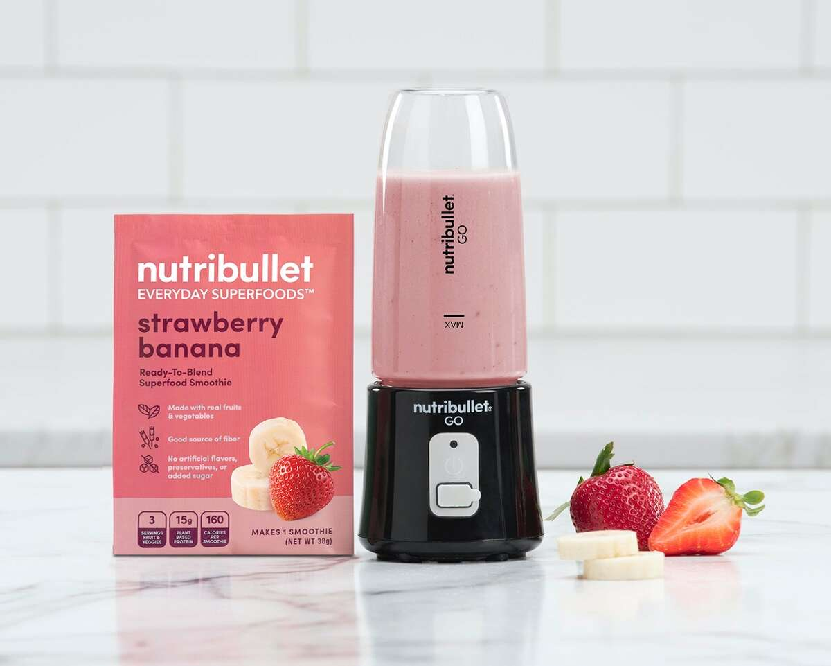 Nutribullet's Go Cordless Blender  is your answer to implementing a healthy lifestyle.