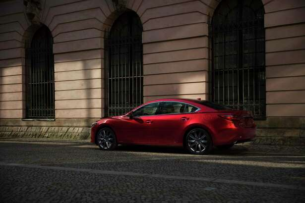 The 2021 Mazda6 Signature features a 2.5-liter, turbocharged engine that produces 250 horsepower.