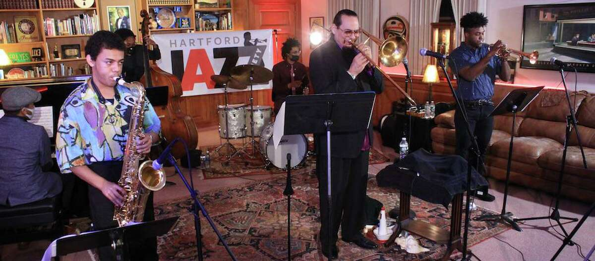 The Hartford Jazz Society celebrated its 60th Anniversary and kicked off its end of year fundraising drive with a concert by trombone master Steve Turre's Sextet featuring young rising stars. If you missed it live, you can still watch it on the Hartford Jazz Society's Facebook page. The society's season continues online with concerts scheduled for Jan. 17, 24 and 31.