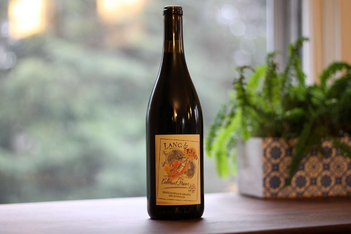 Lang & Reed's North Coast Cabernet Franc smells like green pepper, lavender and California wintertime.