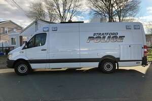 A Milford man is charged with stealing sanitizing wipes from a Stratford supermarket.