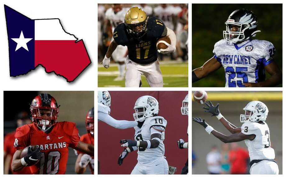 Justin Freeney, Kedrick Reescano, Josh Evans-Pickens, Braydon Jones and Louis Williams III are The Courier's nominees for Newcomer of the Year. Photo: Staff File Photos