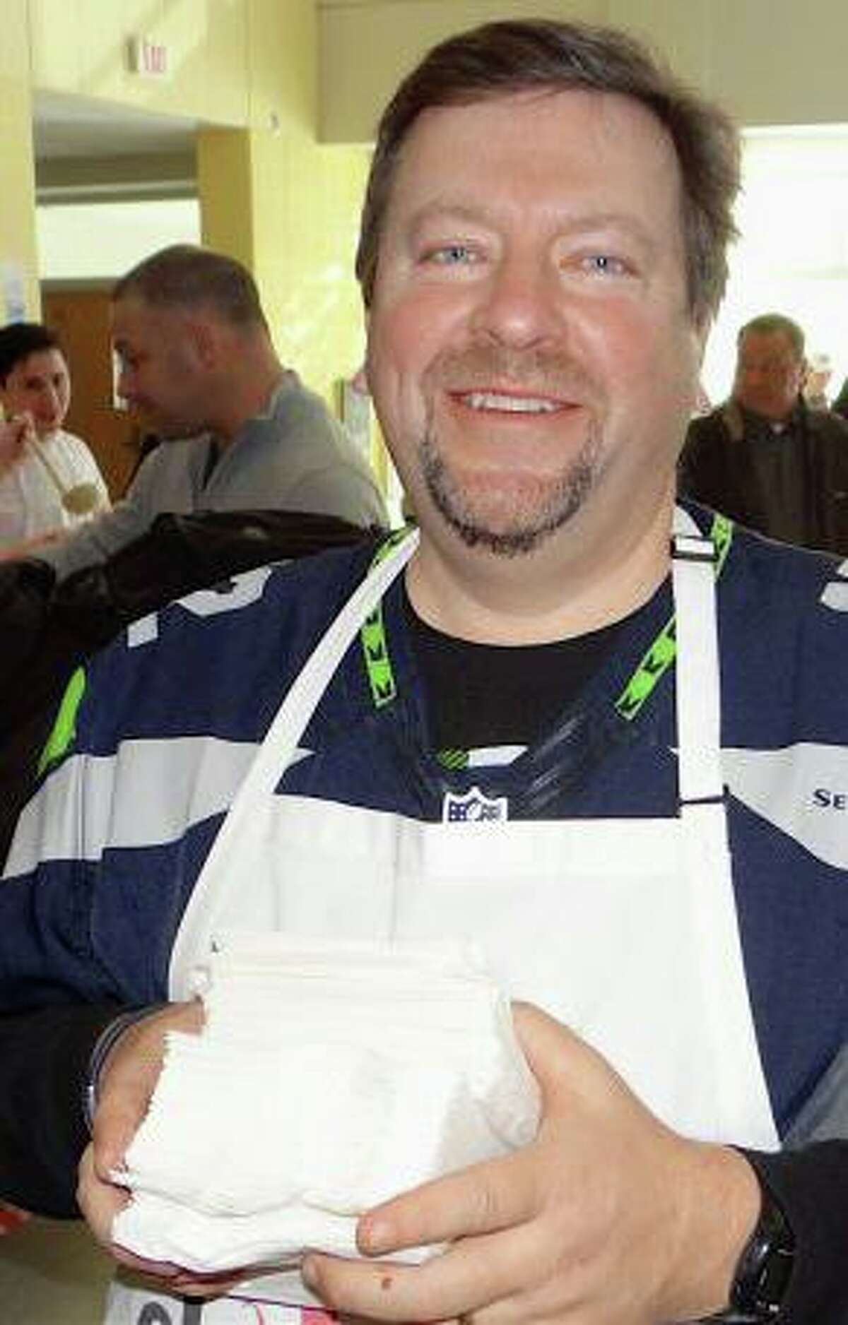 Jim Keenan, seen here in 2015, died on Dec. 23, 2020. A Norwalk, Conn. resident, Keenan founded the popular regional chowder competitions