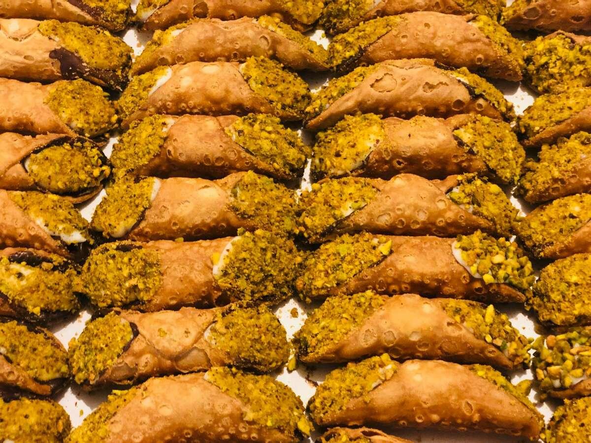 Mandola's makes some of the tastiest cannolis around town.