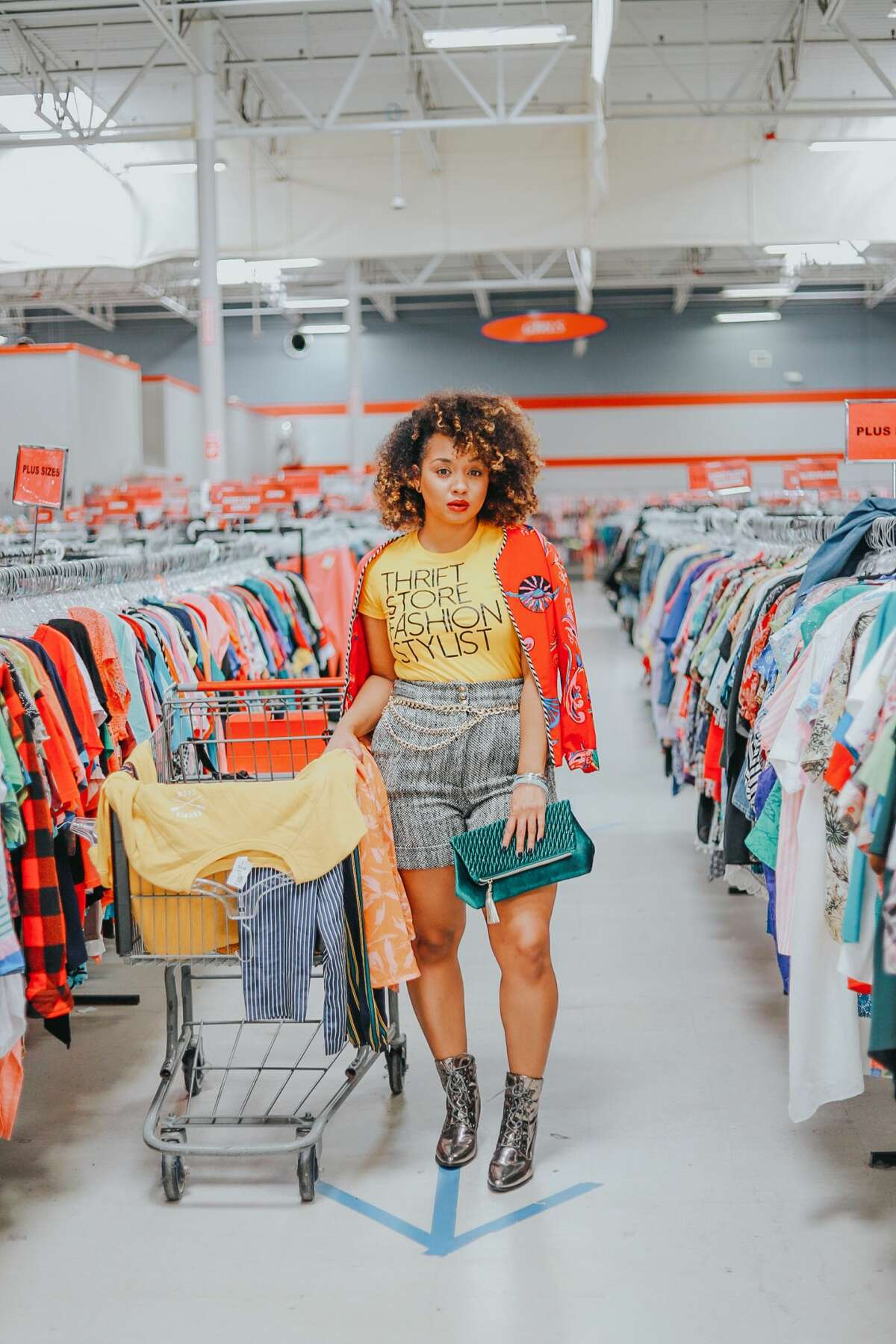 Always Check the Thrift Shop For These 3 Items: When thrift shopping, there are some pieces always worth looking at, according to thrift shopping expert, personal shopper and stylist Sharoya Hall from ImPrettyThrifty