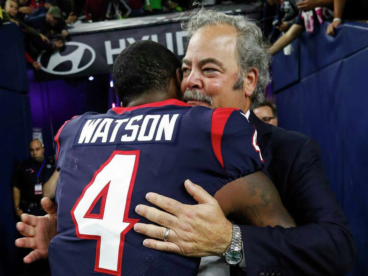 The days of hugs between Deshaun Watson and Cal McNair are long over.