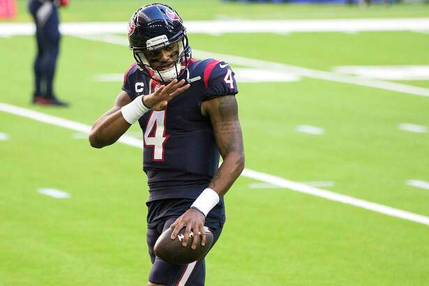Texans quarterback Deshaun Watson wants to help make the call on the team's moves.