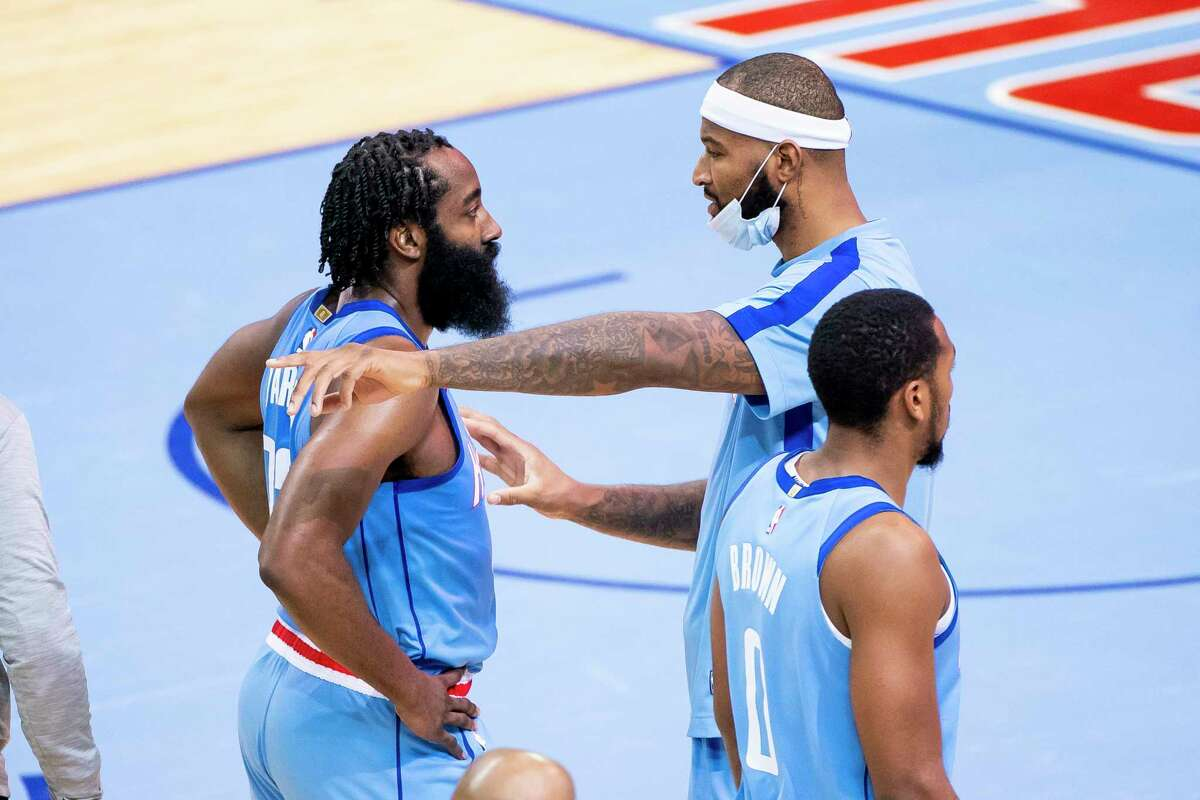 One day after James Harden aired out his feelings about the Rockets, DeMarcus Cousins fired back at his teammate who wasn't around for Wednesday's practice.