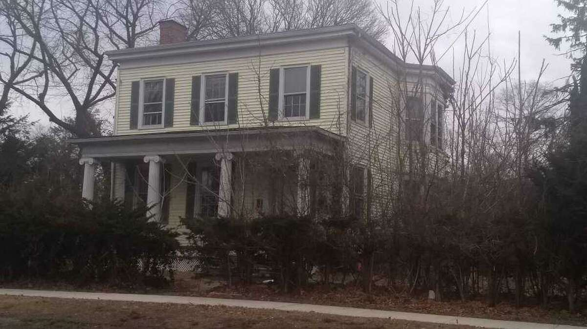 The David Baldwin House at 67 Prospect St. in Milford.