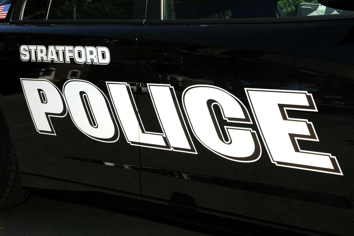 A file photo of a Stratford, Conn., police cruiser.