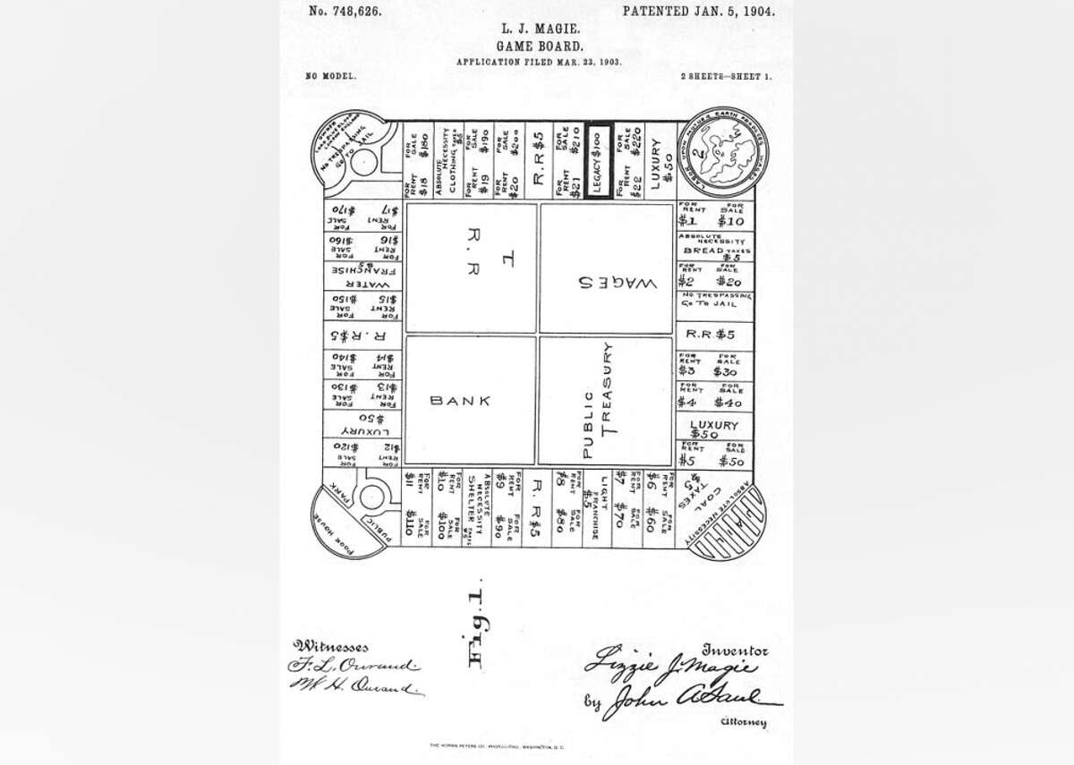 1904: The Landlord's Game According to Mary Pilon, the author of