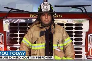Josue Rios has been with the Houston Fire Department for more than a decade, putting his life on the line every day for his community.