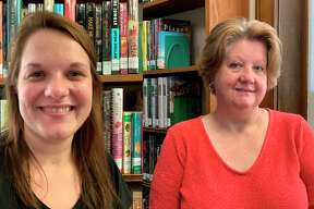Becca Brown andKim Jankowiak, Manistee County Library