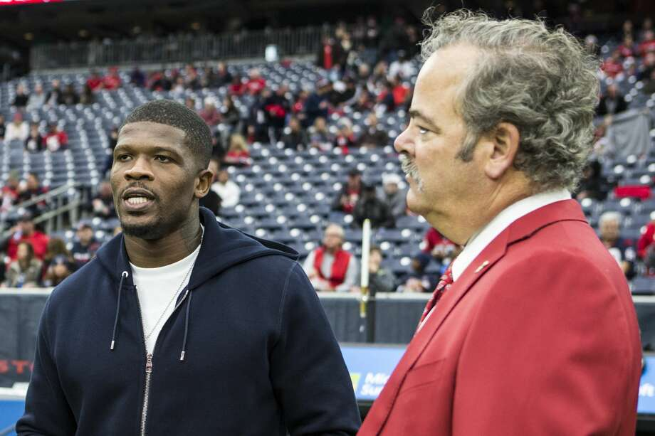 Former Texans star Andre Johnson, who's hardly outspoken, didn't mince words regarding Deshaun Watson and Jack Easterby. But how will chairman Cal McNair react to the scathing criticism? Photo: Brett Coomer / Staff Photographer / © 2016 Houston Chronicle