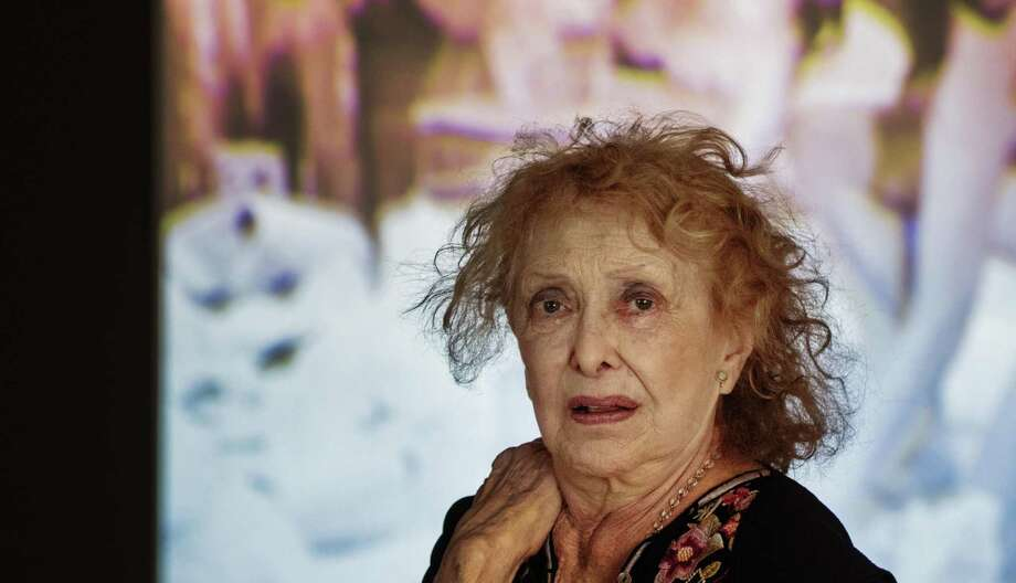 Groundbreaking feminsit artist Carolee Schneemann, pictured at a 2017 retrospective in Germany, is the inspiration for a new exhibit at Artpace. Photo: Picture Alliance /Getty Images / (c) Copyright 2017, dpa. Alle Rechte vorbehalten