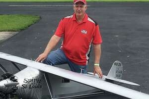 Terry Foote, Jr. has been flying model remote control airplanes for most of his life. The 69-year-old is the president of the SPARKS RC Club and is also a member of the Texas Warbird Thunder Flying Team out of Austin.