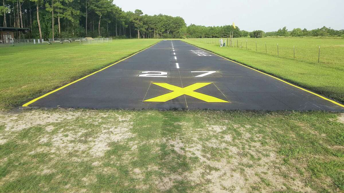 The SPARKS facilities at A.D. Dyess Park in Cypress now has a new 450-foot paved runway that provides smooth takeoffs and landings. The whole filed is approximately 1,000 feet long and at least 100 foot wide. The 113-acre facility is located at 16822 Kitzman Rd. in Cypress.