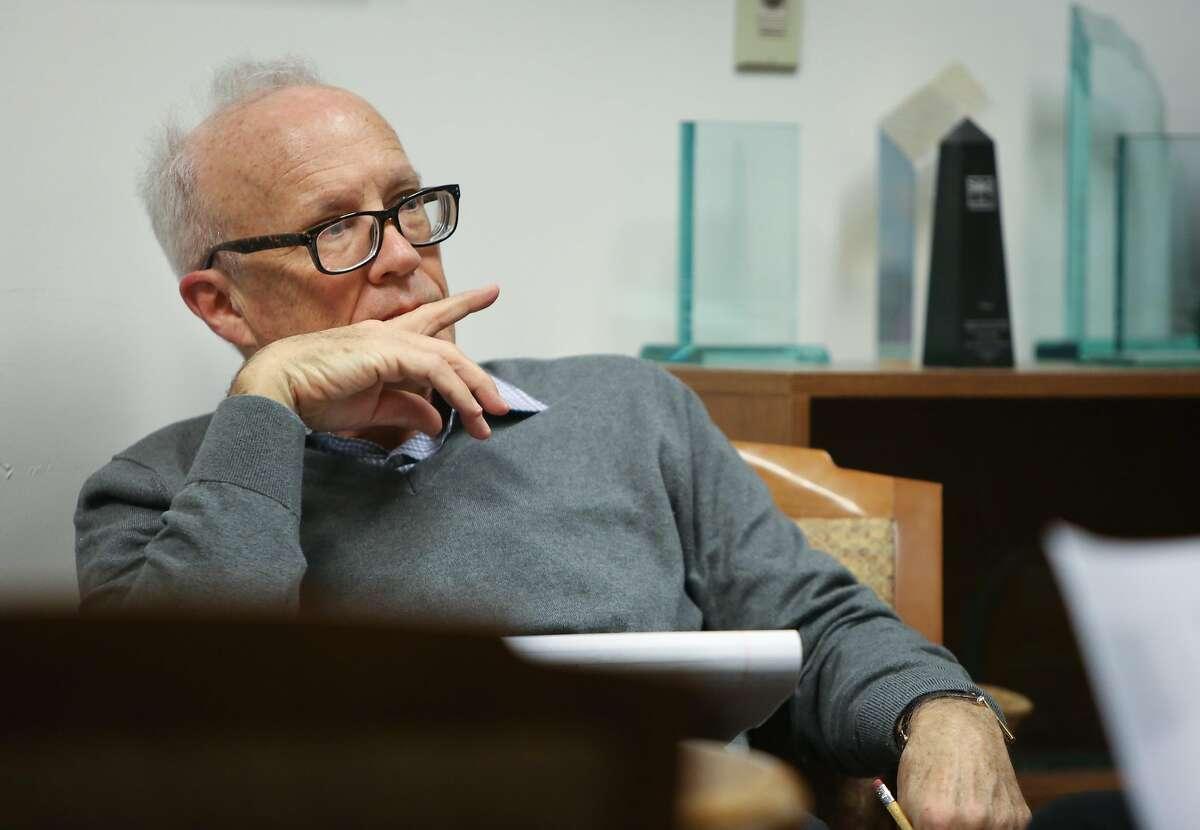 Editorial writer Marshall Kilduff is retiring from The Chronicle.