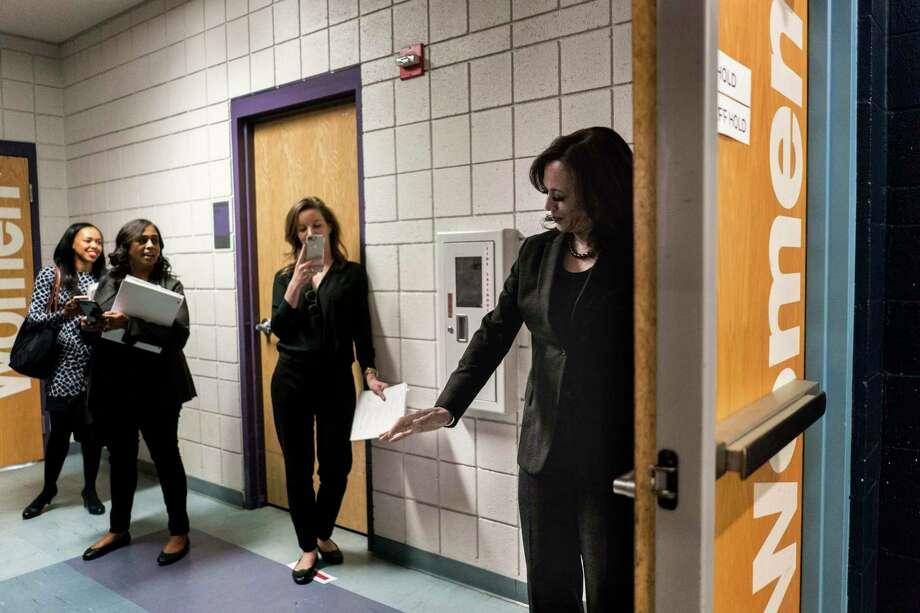 Sen. Kamala Harris, D-Calif., campaigns for president in North Las Vegas, Nev., on March 1, 2019. Photo: Washington Post Photo By Melina Mara / The Washington Post