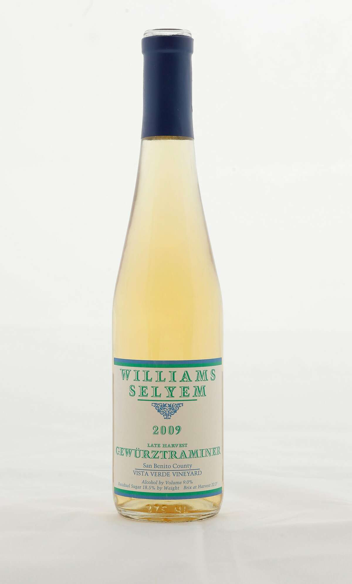Williams Selyem makes a few wines other than Pinot Noir, such as this late-harvest Gewurztraminer.