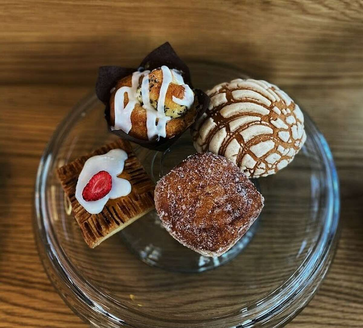 Giant Leap Coffee offers a wide variety of pastries.