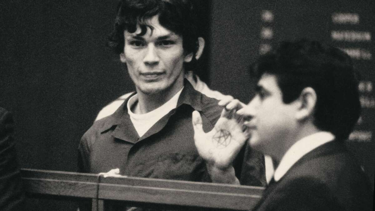 Richard Ramirez (the Night Stalker) in episode 4 of