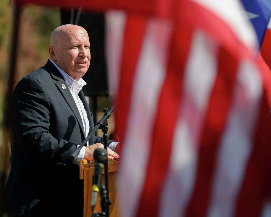 "U.S. Congressman Kevin Brady, R-The Woodlands, called the impeachment of President Donald Trump ""irresponsible"" noting the action could spark further violence following the attack at the U.S. Capitol last week. Photo: Jason Fochtman, Houston Chronicle / Staff Photographer / 2020 © Houston Chronicle"