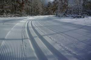 The Manistee Non-Motorized Trail Park is groomed for both classic and skate skiing.