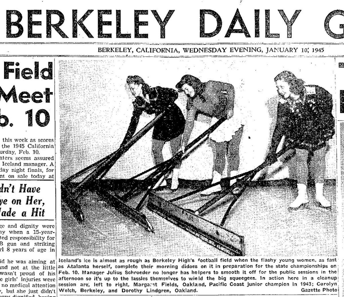 Berkeley Daily Gazette, 1945