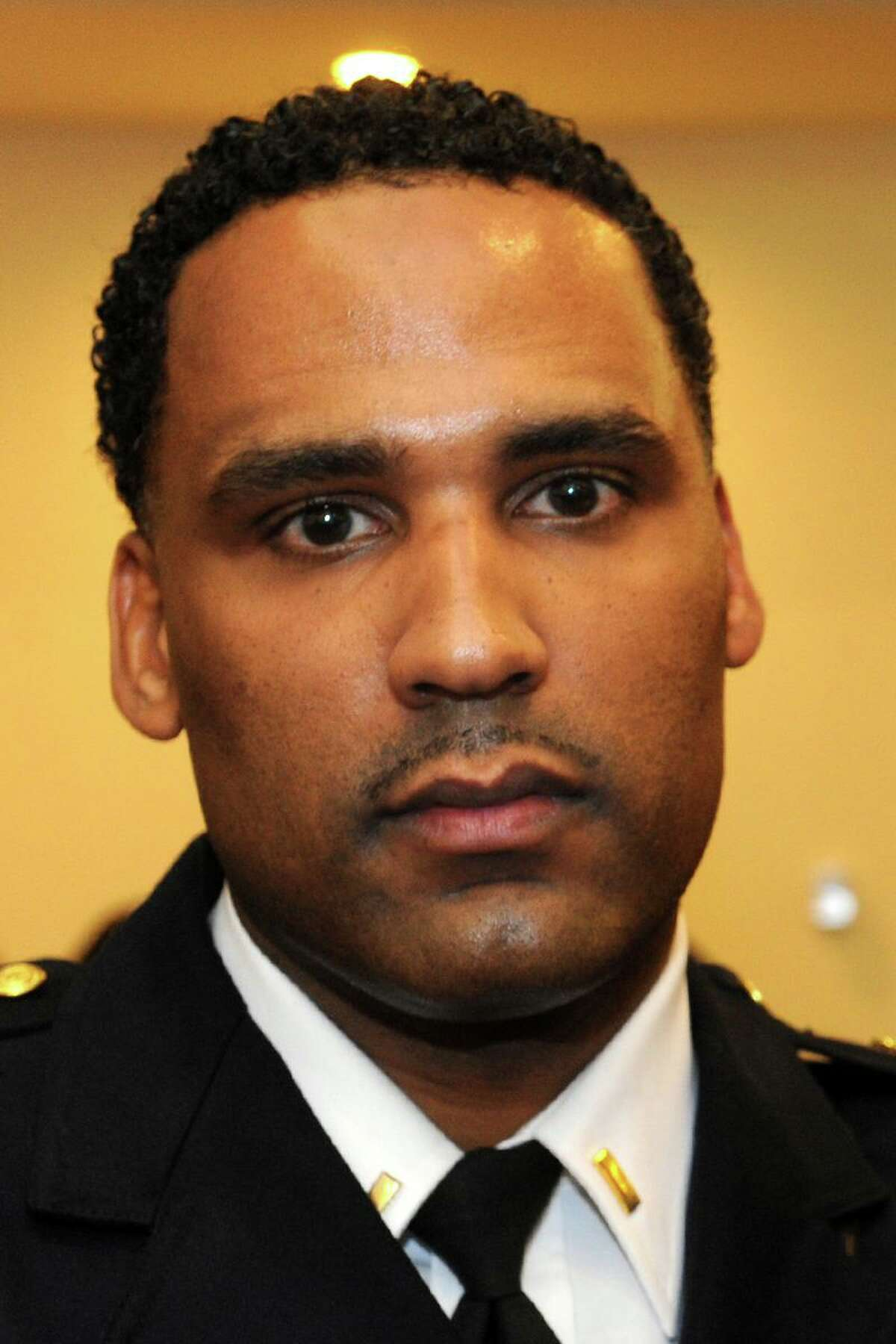 Bridgeport Police Capt. Lonnie Blackwell has filed a federal lawsuit against Acting Police Chief Rebeca Garcia.