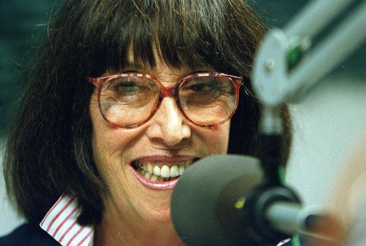 """Margo St. James ran for Board of Supervisors in San Francisco. Here she is in 2001 on radio station """"KALW"""" promoting her candidacy."""
