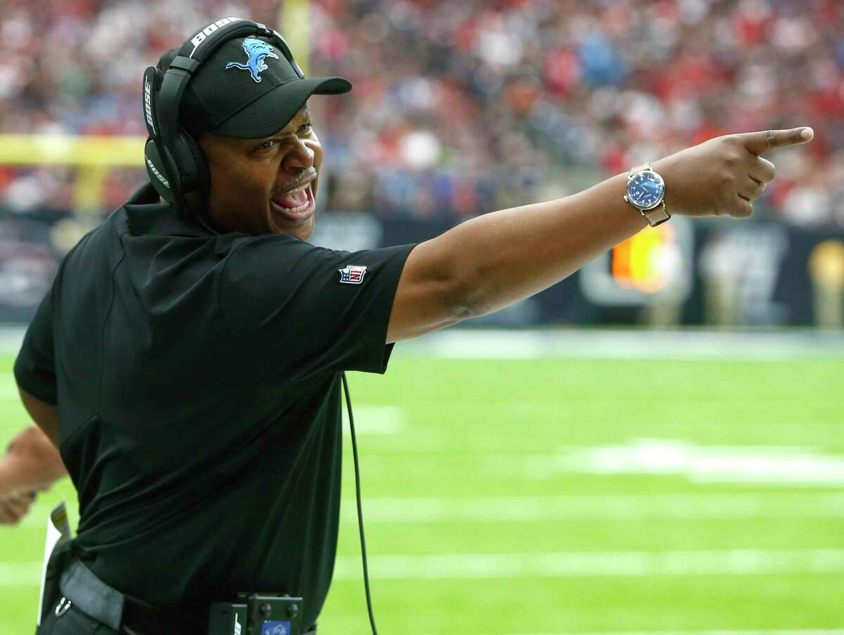 The Texans interviewed Jim Caldwell, who has a better record than all of Houston's coaches, but there is no indication Houston will hire the Black head coach.