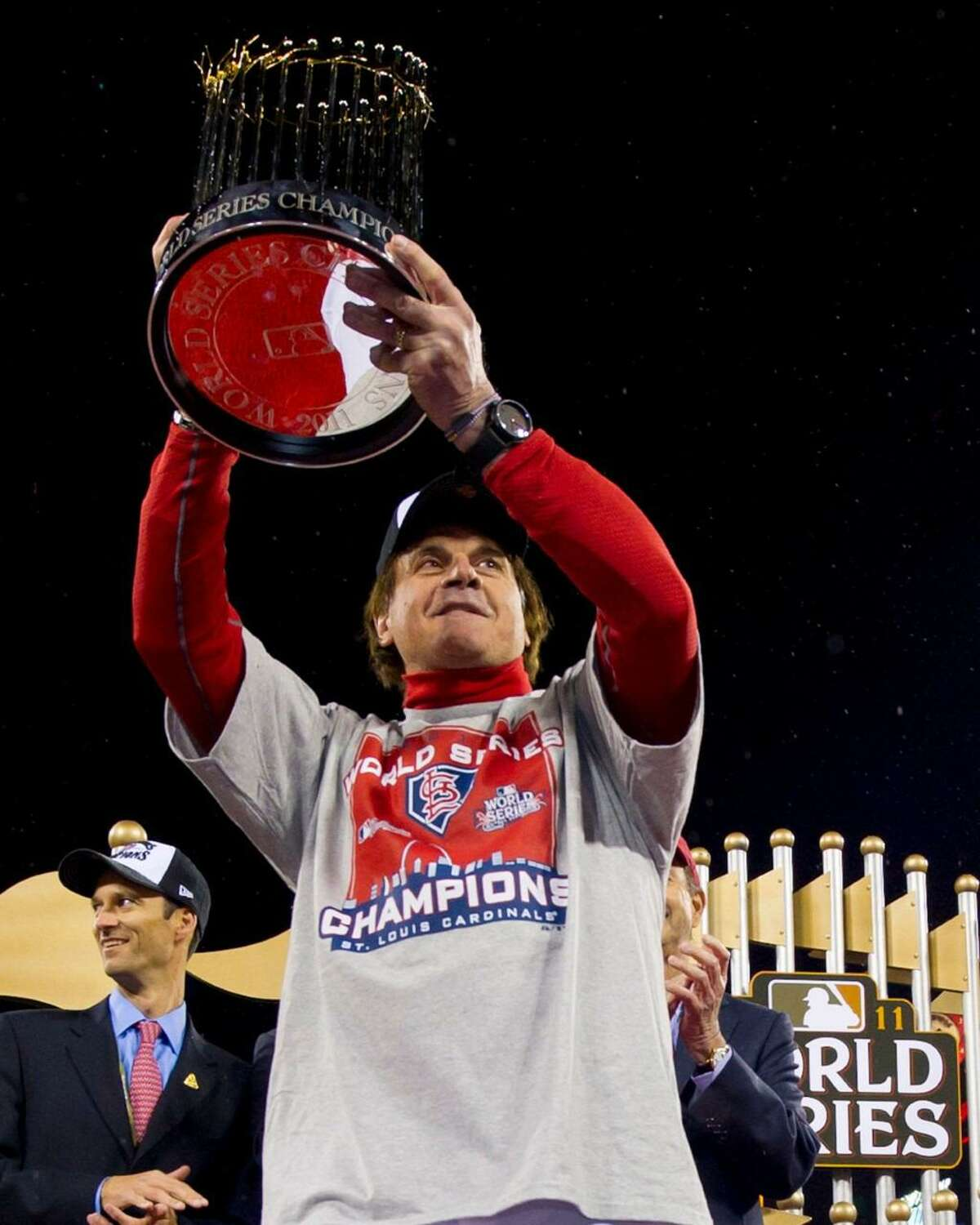The Westport Library is presenting a conversation with Major League Baseball Hall of Famer Tony La Russa on Tuesday, Jan. 26, from 7 to 8:30 p.m., in a virtual program titled: