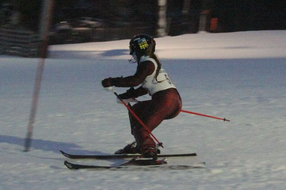 Onekama opened its ski season with a conference meet at Crystal Mountain on Jan. 13. Photo: Robert Myers