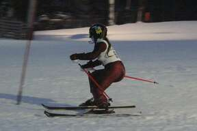 Onekama opened its ski season with a conference meet at Crystal Mountain on Jan. 13.