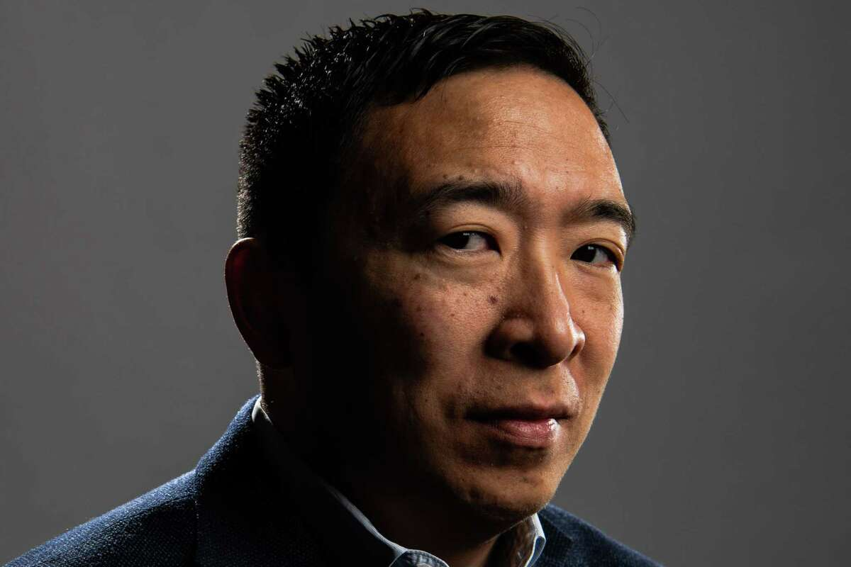Andrew Yang, a former Democratic presidential candidate, formally announced his run for mayor of New York City.