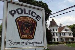 A file photo of Ridgefield, Conn, police headquarters.