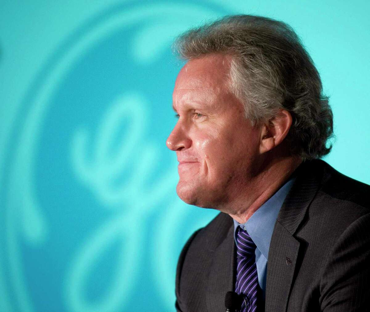 Jeffrey Immelt in November 2008 while CEO of General Electric, in New York City. (AP Photo/Mark Lennihan, file)