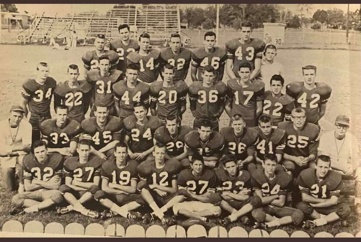 The Crosby 1960 football team was the first to make it to the state final in school history.