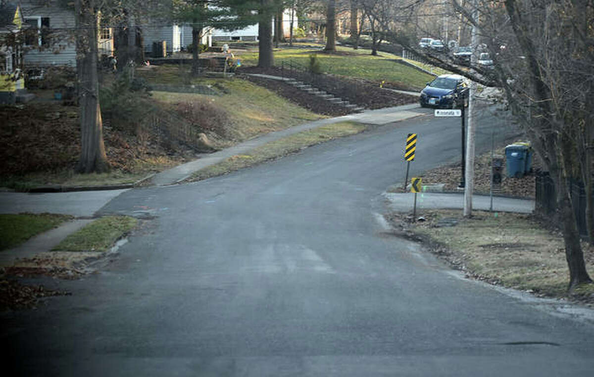 South Charles Street, shown here on Tuesday, will be rebuilt along its entire length this summer or fall.