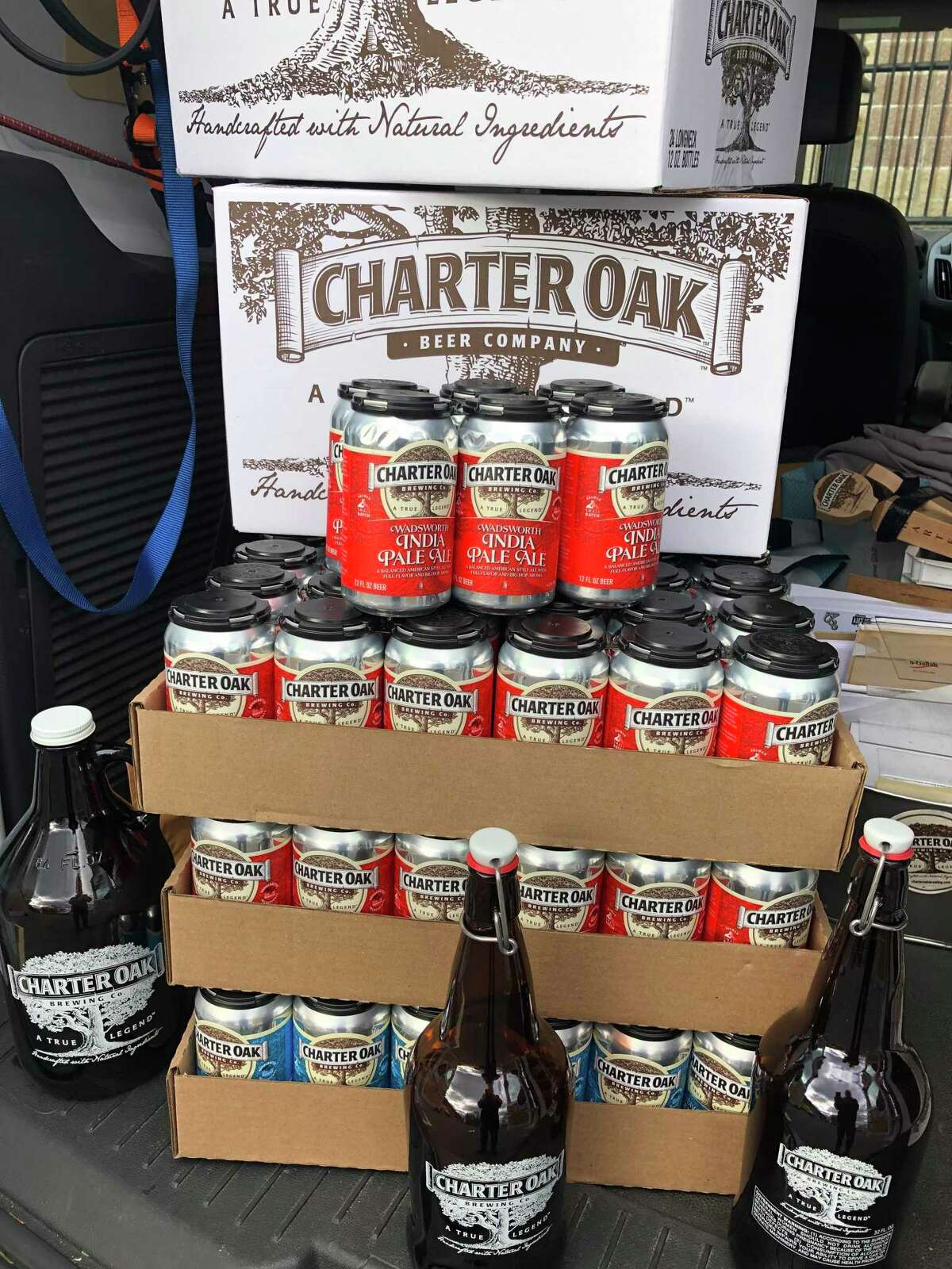 Charter Oak Brewing Company in Danbury is offering local home delivery.