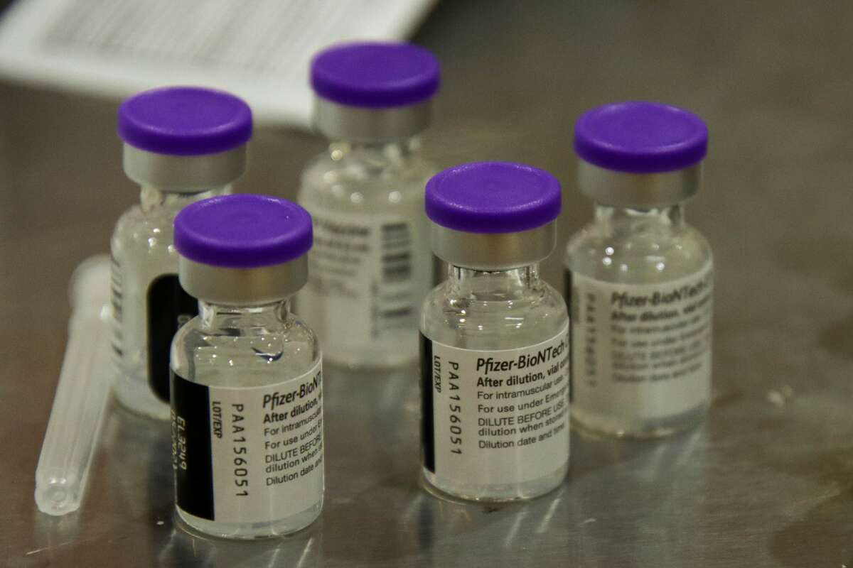 Huron County's first large scale vaccination clinic was scheduled to administer nearly 1,000 doses of the Pfizer COVID-19 vaccine.