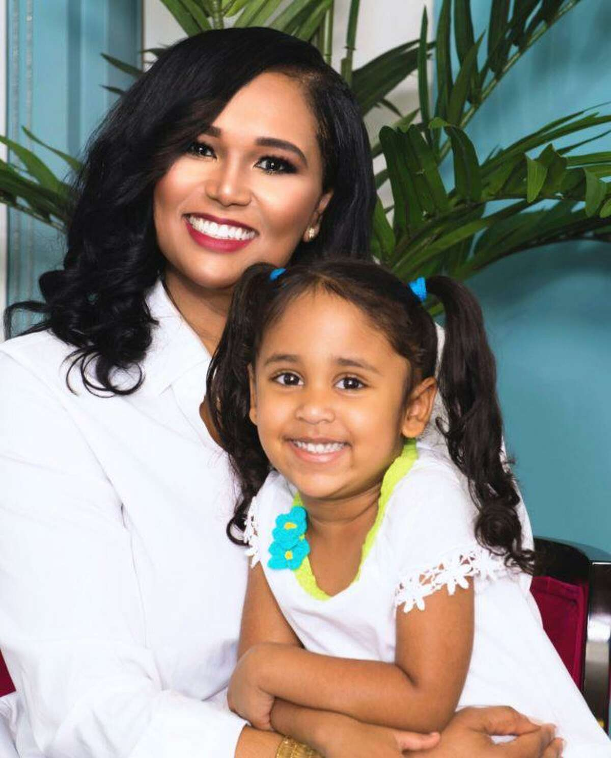 Rep. Shawn Thierry and her daughter, Klaire.