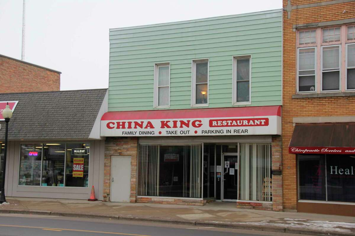 The China King restaurant in Bad Axe. The restaurant's manager has expressed frustration that the state's orders restricting restaurants to carry-out only will continue until Feb. 1. (Robert Creenan/Huron Daily Tribune)