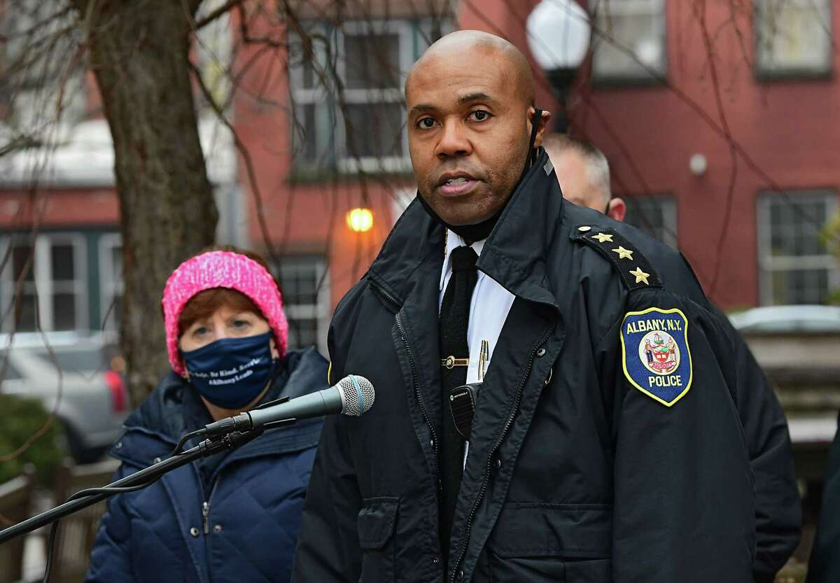 FILE. Letter writer says, 'The usual framing is we just need better people in these offices and then these policies can get their due. But that all the officers need do is shrug and blame progressives for shortcomings in pursuing justice speaks of deeper problems with our society.' (Lori Van Buren/Times Union)