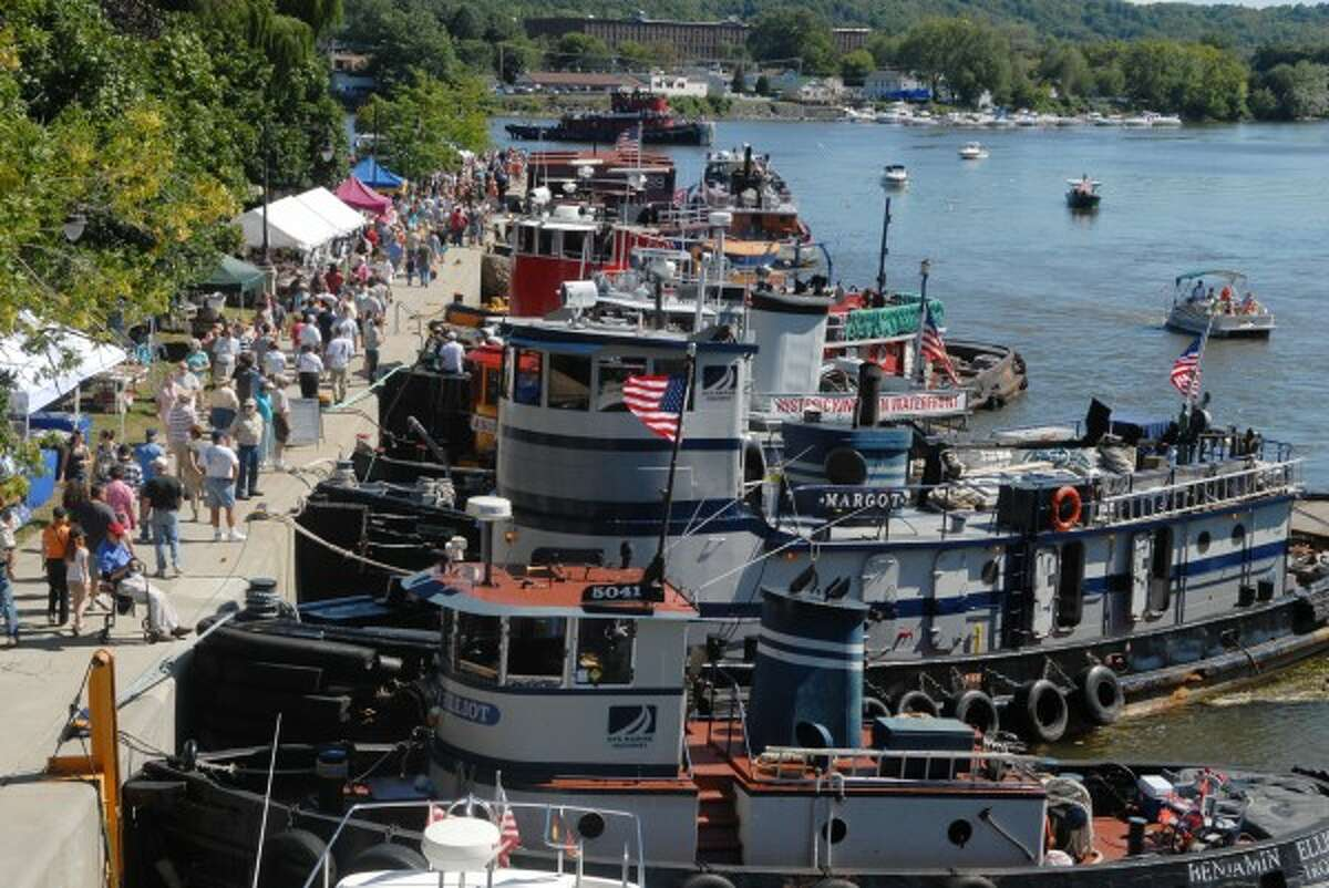The Waterford Tugboat Roundup is all weekend at the Waterford Harbor Visitors Center, with fireworks Saturday night. Details.